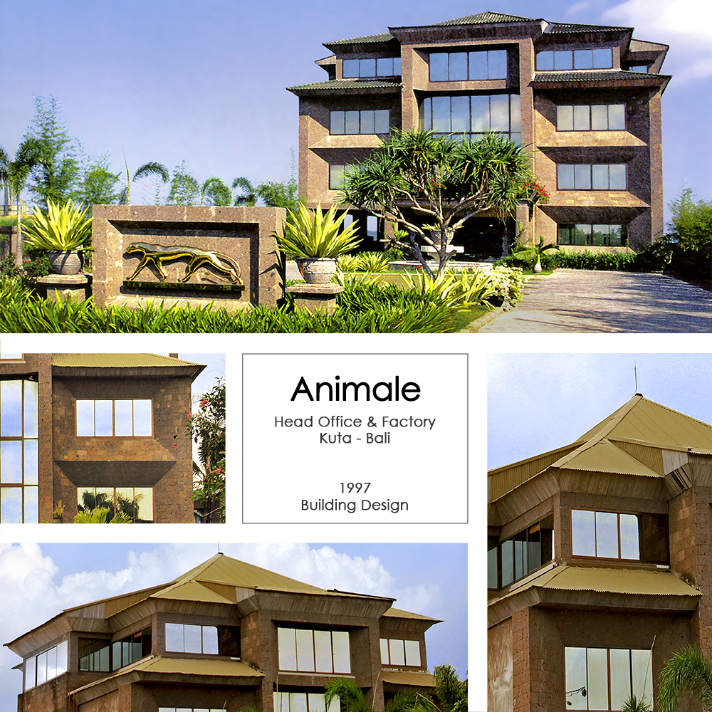 Animale Head Office and Factory Bali