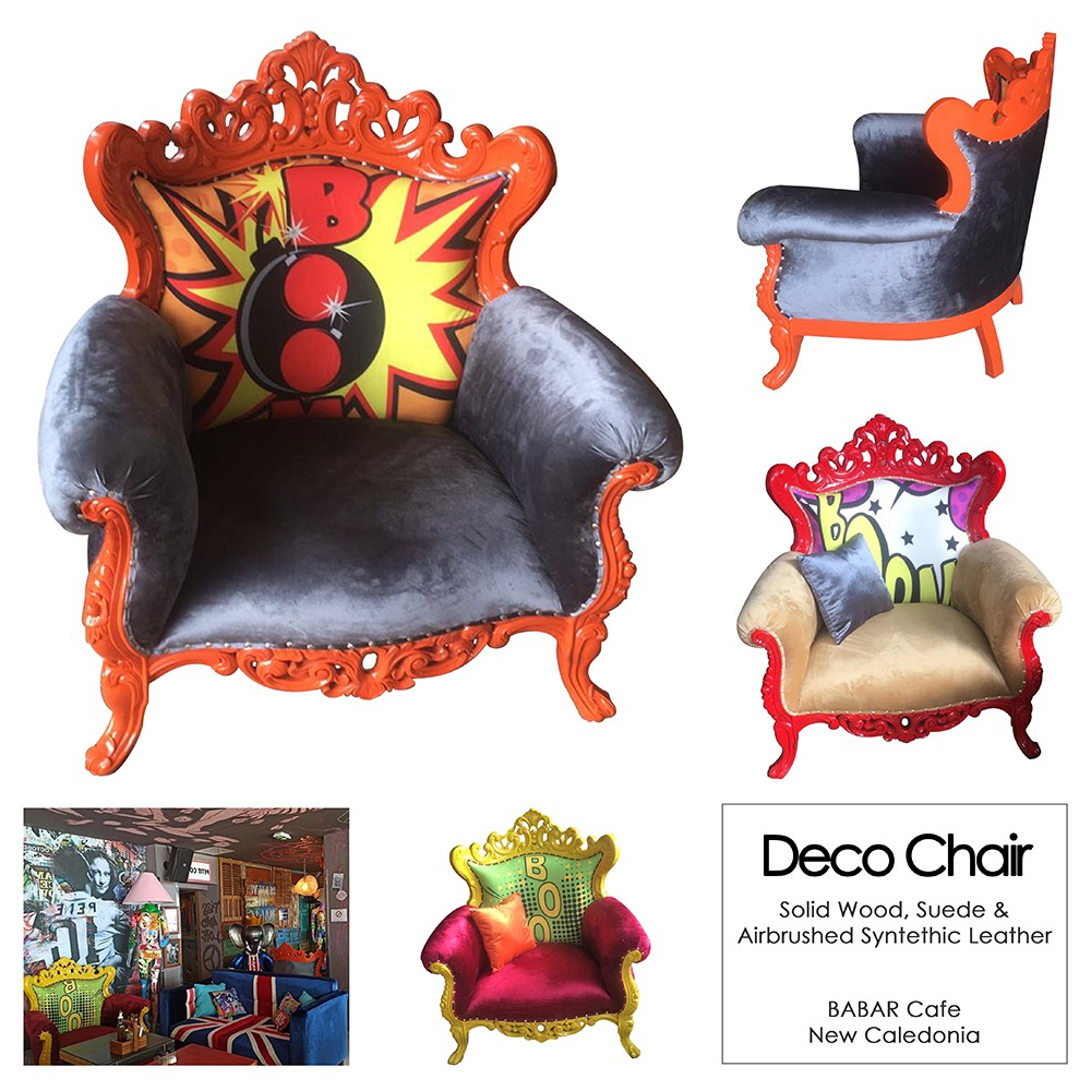 Deco Chair Barbar Cafe New Caledonia