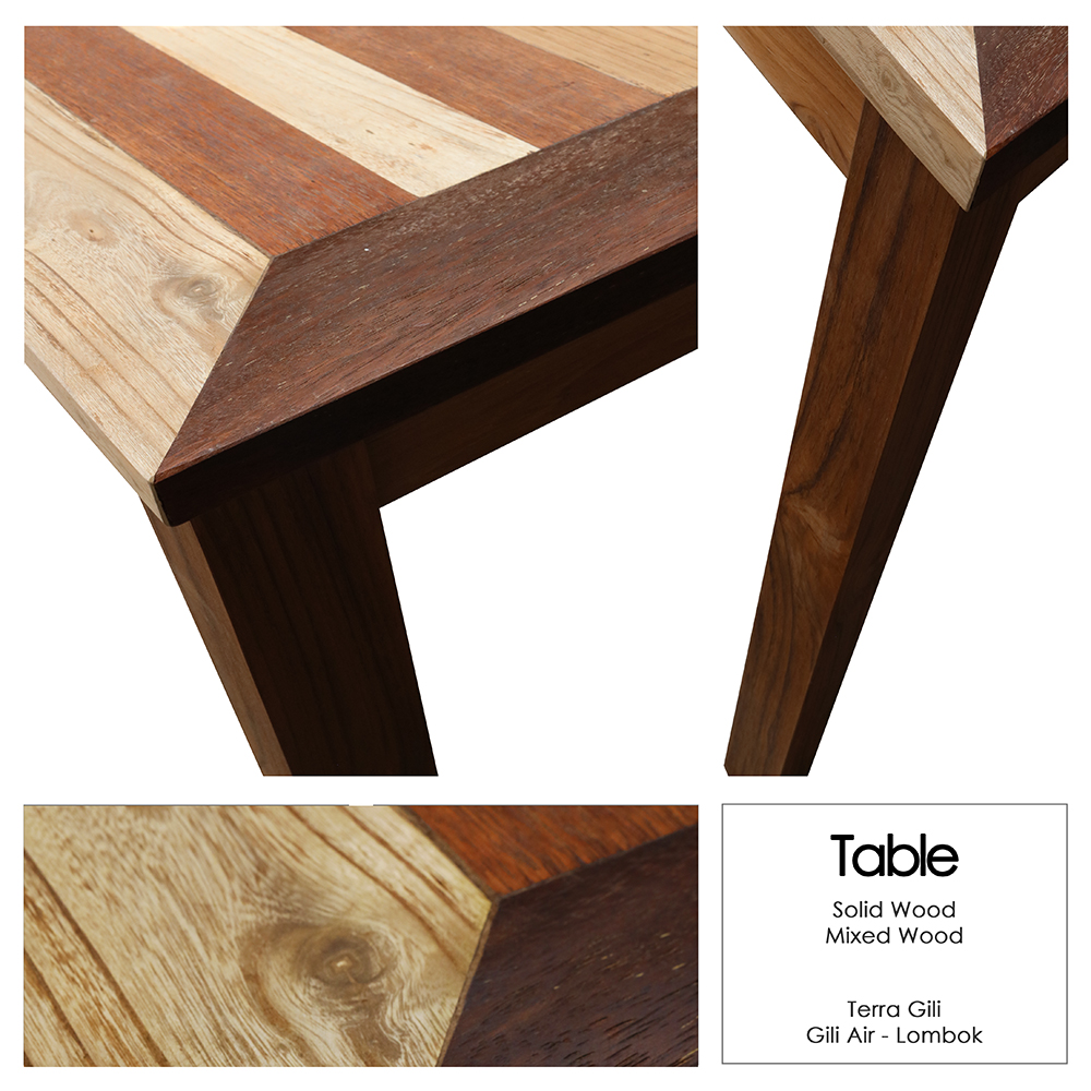 Mixed Wood Table